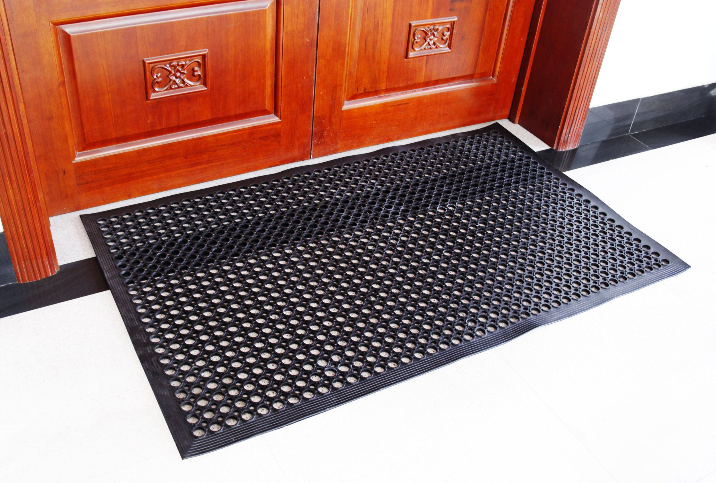 New Star 1 Pc Heavy Duty Black 36x60 Inch Restaurant Bar Anti Fatigue Rubber Floor Mat Ad Black Affiliate Duty Rubber Floor Mats Floor Mats New Star