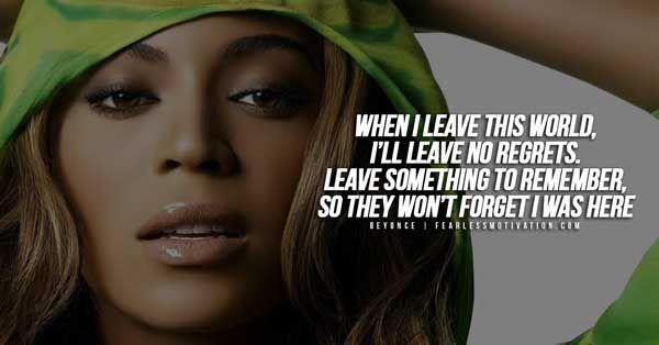 Beyonce Quotes Inspirational