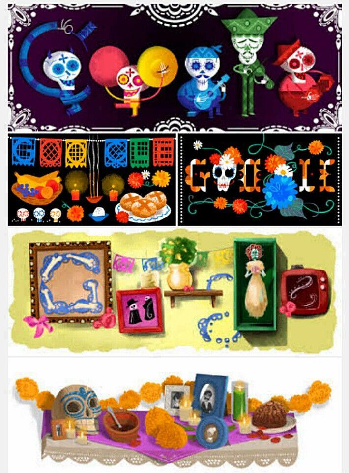 Google Doodles honors Día de los Muertos Mexican