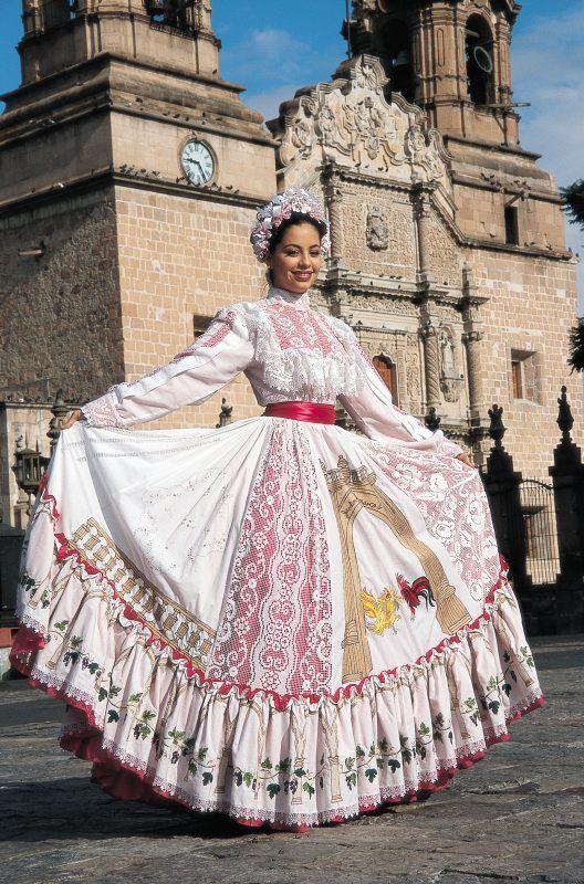 Traje Típico Del Estado De Aguascalientes Estilo Mexicano