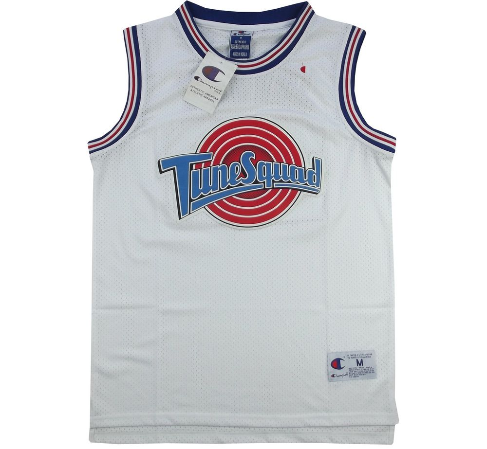 hot sale online e4aca 80818 Image of Bootleg Champion Space Jam Tune Squad Jersey Size ...