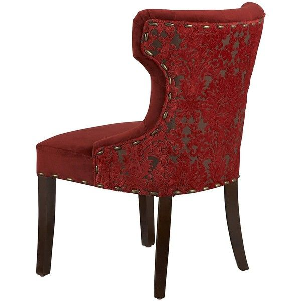Nice Pier 1 Imports Hourglass Dining Chair   Red Damask ($200) Found On Polyvore