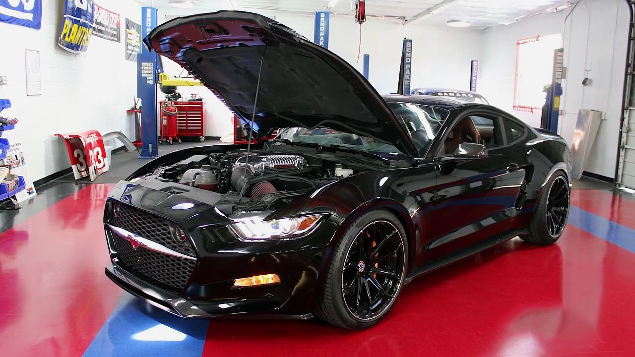 2015 Galpin Rocket Mustang In Details [VIDEO Mustang