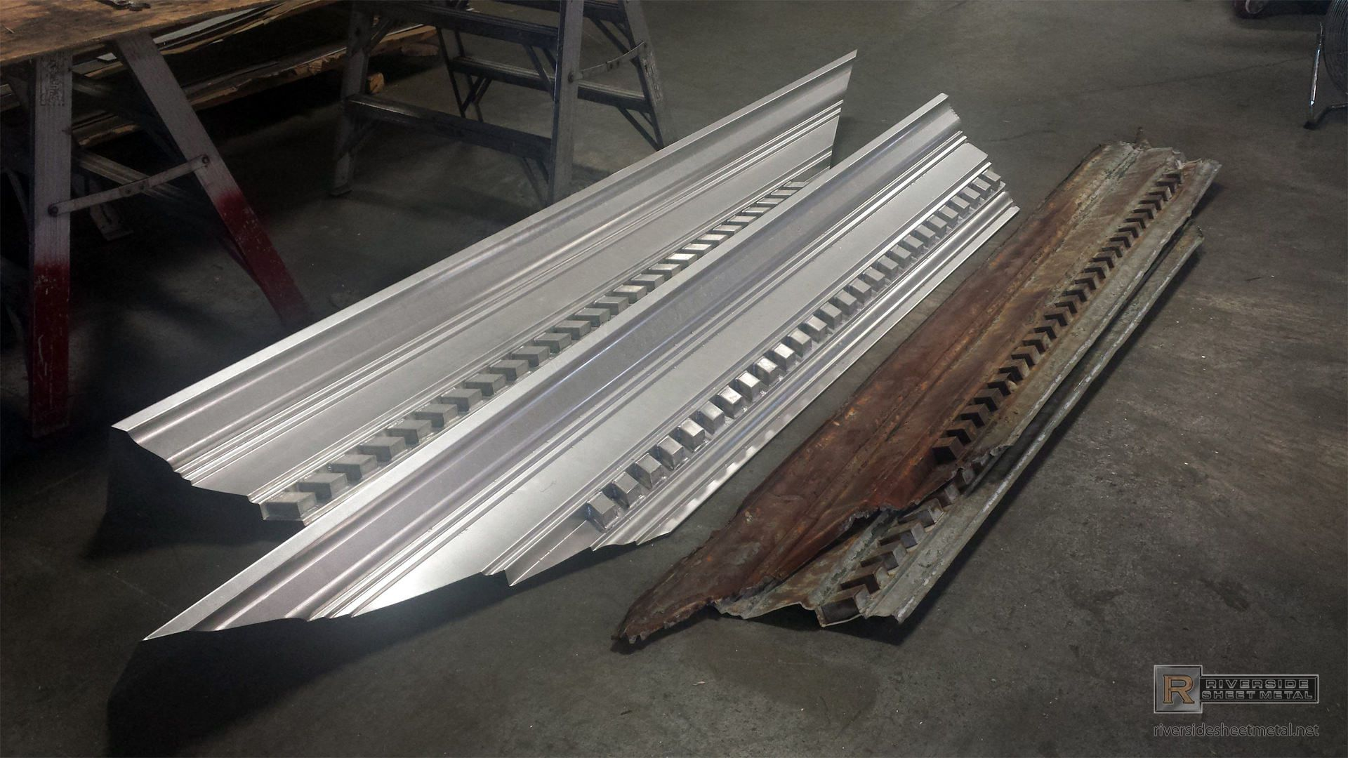 Tcsii Corniec Work Cornice Metal Aluminum