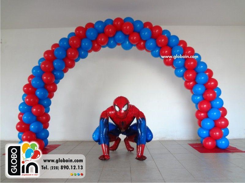 Englobando Tu Vida Arcos Spiderman Birthday Spiderman Birthday Party Spiderman Party