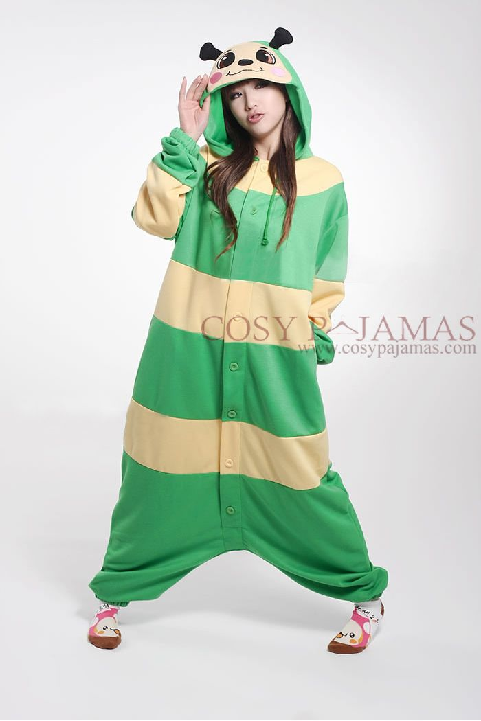 Larva Animal Adult Onesie Kigurumi Costume | kigurumi | Pinterest ...