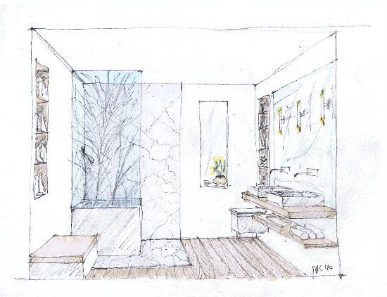 Interior Design Bedroom Sketches architectural interior bedroom sketches - google search | house