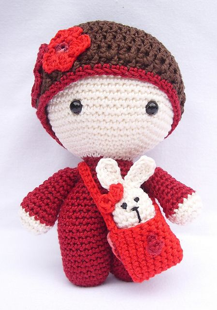 Ravelry: My Little Crochet Doll - Gorjuss pattern by Betty Virago ...   640x449
