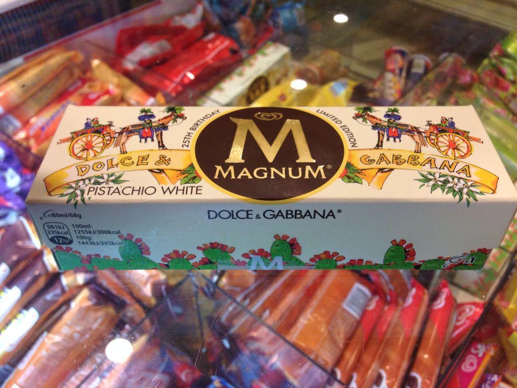 magnum 25th anniversary advert