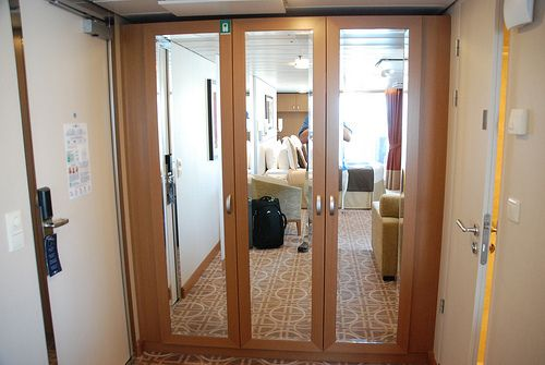 Cool Closet Sky Suite 1198 Aboard The Celebrity Equinox With