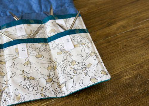 Circular Knitting Needle Case Tutorial Seeing Pinte