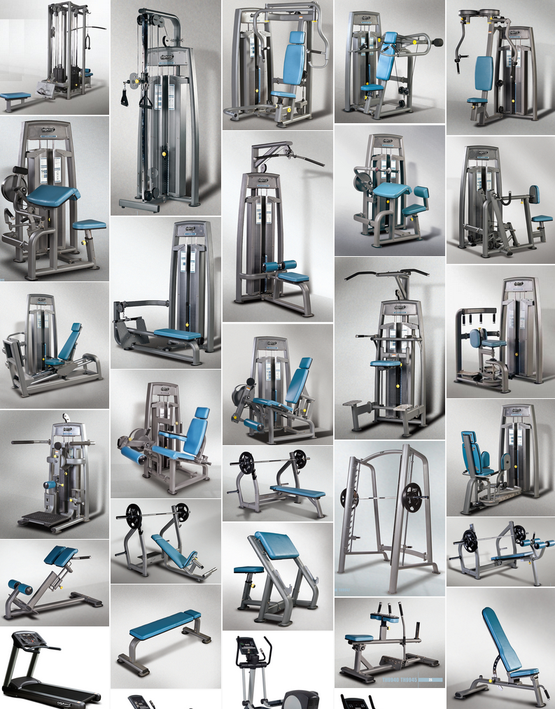 Commercial Gym Equipment at discount prices, New gym ...