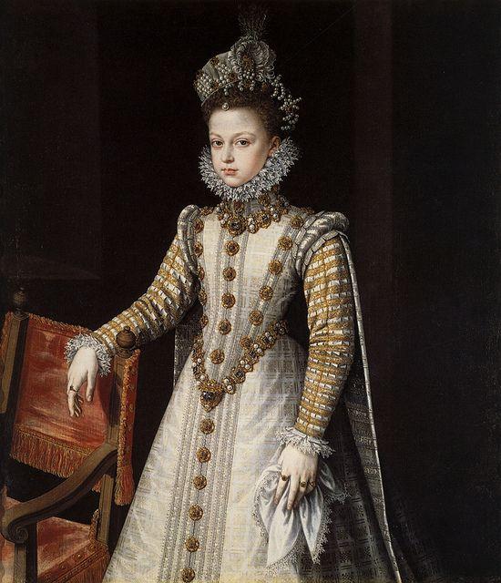 Sofonisba Anguissola.Infanta Isabella Clara Eugenia.c.1578.[Prado]