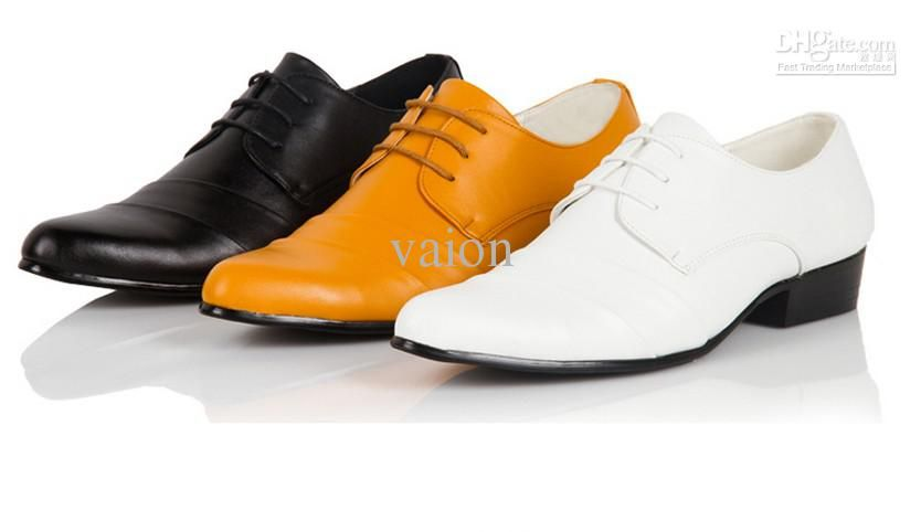 FREE Shipping stylish Sexy Groom shoes men's wedding shoes