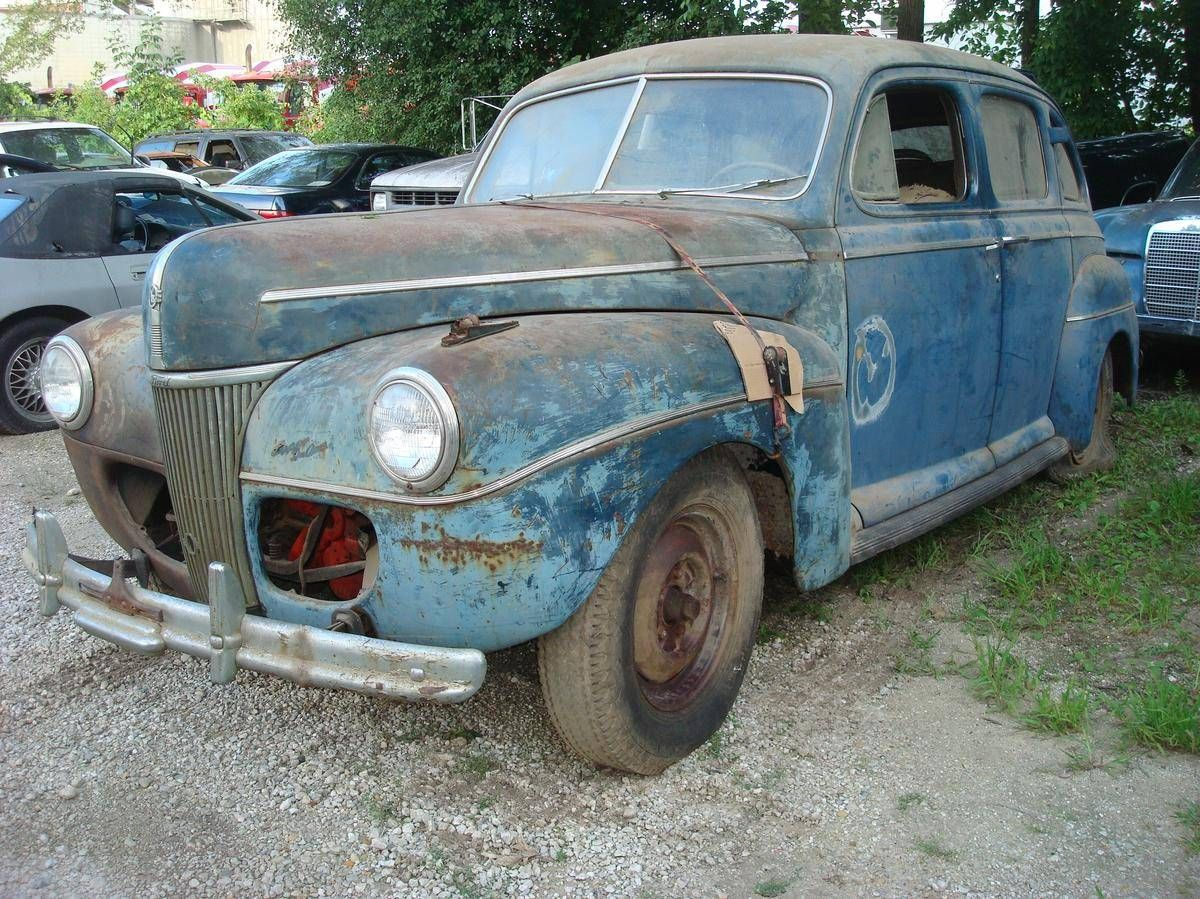 1941 Ford Super Deluxe Super Deluxe 4 Door V8 | Barn Finds,Junk Yard ...
