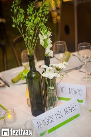 bases para centros de mesa boda botellas de vino - Buscar con Google - arreglos de mesa