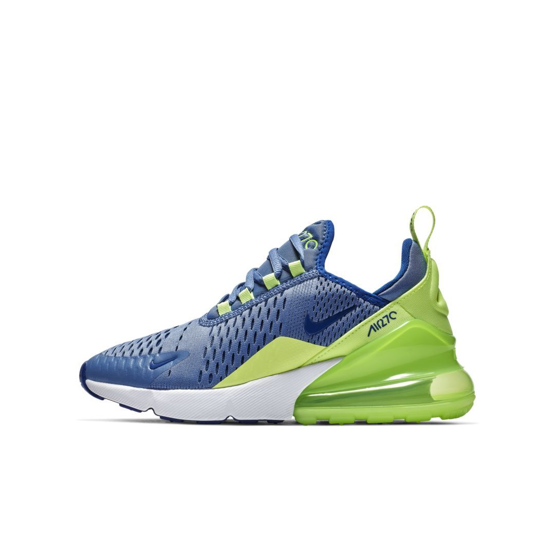 ce6006be814b Nike Air Max 270 Big Kids  Shoe Size 3.5Y (Indigo Storm)