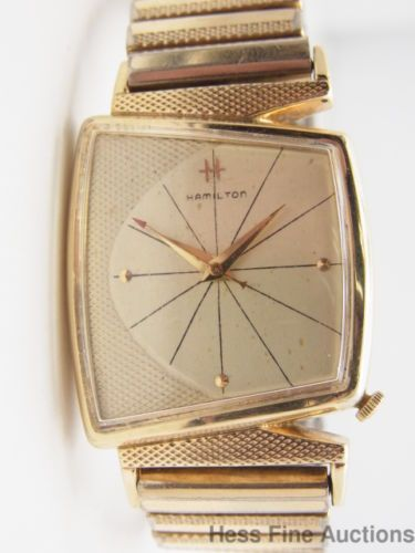 Vintage Hamilton Mens Wrist Watch - Porn Galleries-1367