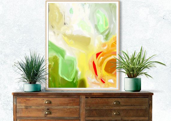 Painting Abstract Large Scale Art Contemporary Art Archival Giclee ...