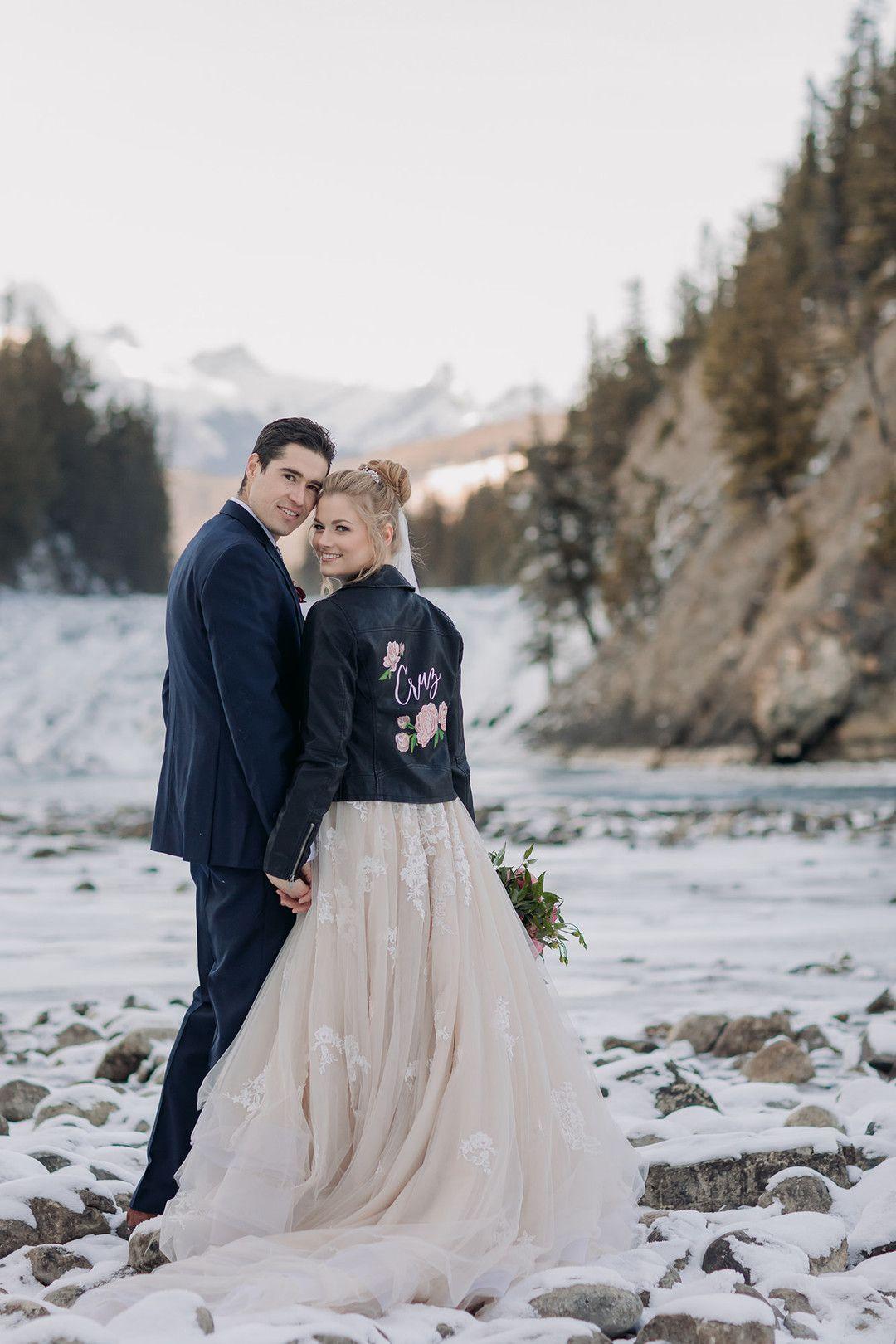 Winter Wonderland Wedding in Banff Winter wonderland