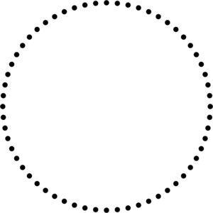 Creating Dotted Lines That Are Actually Circles Logo Maquiagem Ideias Instagram Elementos Graficos