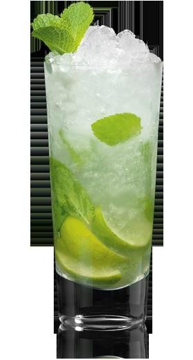 How To Make A Mojito Cocktail With Bacardi White Rum Recipe Popular Mixed Drinks Bacardi Mojito Easy Mojito Recipe