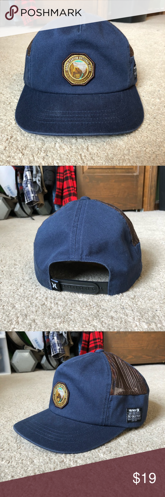 brand new 1498e 153bd Hurley   Pendleton Grand Canyon SnapBack Hat Hurley   Pendleton Grand  Canyon SnapBack Used Great condition - worn once! Feel free to reach out  with any ...
