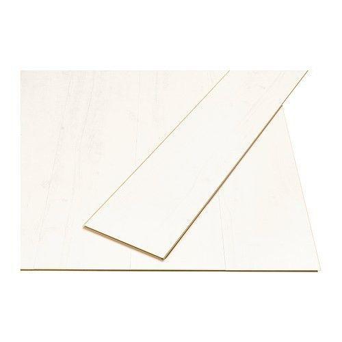 pavimento in laminato ikea tundra bianco laminato
