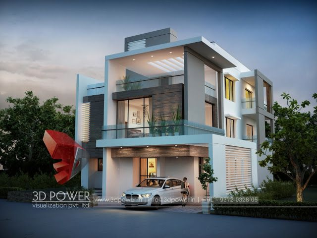 Delightful 3d Animation, 3d Rendering, 3d Walkthrough, 3d Interior, Cut Section,  Photomontage In India: | 3D Bungalow