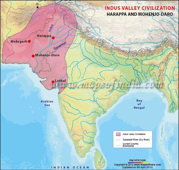Essay On Mehrgarh Civilization Map - image 4