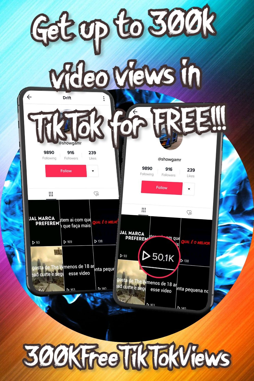 Tiktok Views For Free Up To 50k In 2021 Views Free How To Get