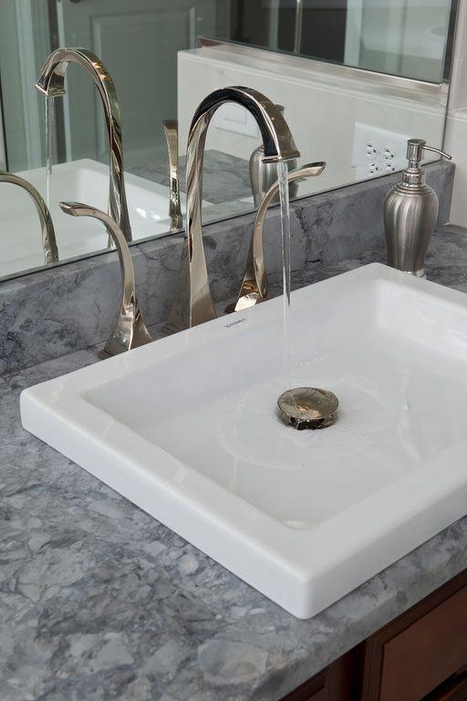 Cool Bathroom Countertops love low profile sink for bathroom! unique and useful. | bathrooms
