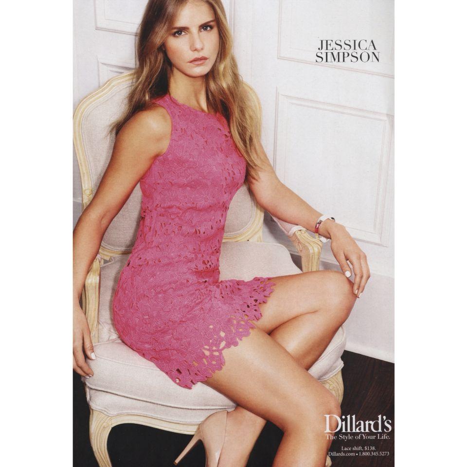Luna Castilho para Dillards Stores ff. Jessica Simpson | Luna ...