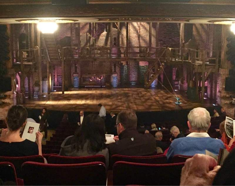 Richard Rodgers Theatre Section Orchestra C Row V Seat 109 Hamilton Shared By Kylemosh31 Richard Rodgers Orchestra The Row