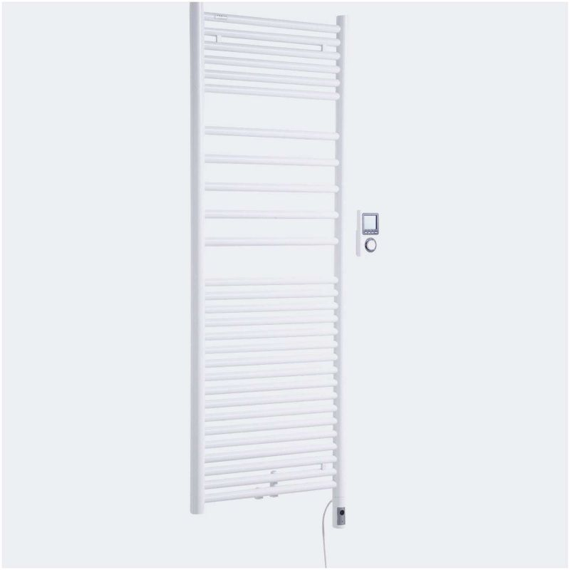 99 Radiateur Electrique Salle De Bain Soufflant Mural 2018 In 2020 Tall Cabinet Storage Home Appliances Storage