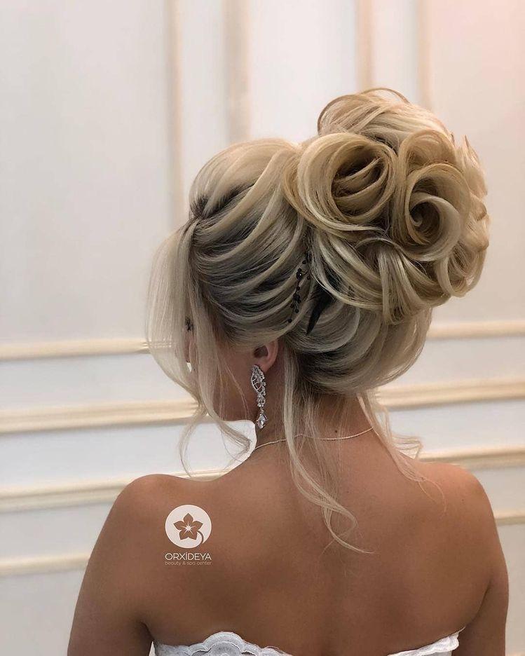 Shafa Studio Sto Instagram Video Bir Azdan Makiyaj Makiyazh Hair Styles Wedding Hair Inspiration Hair Piece