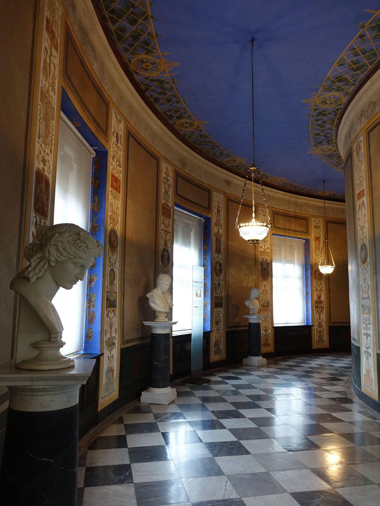Marmorpalais Marble Palace Neuer Garten Potsdam Brandenburg Germany Royal Residence Palace Terrace