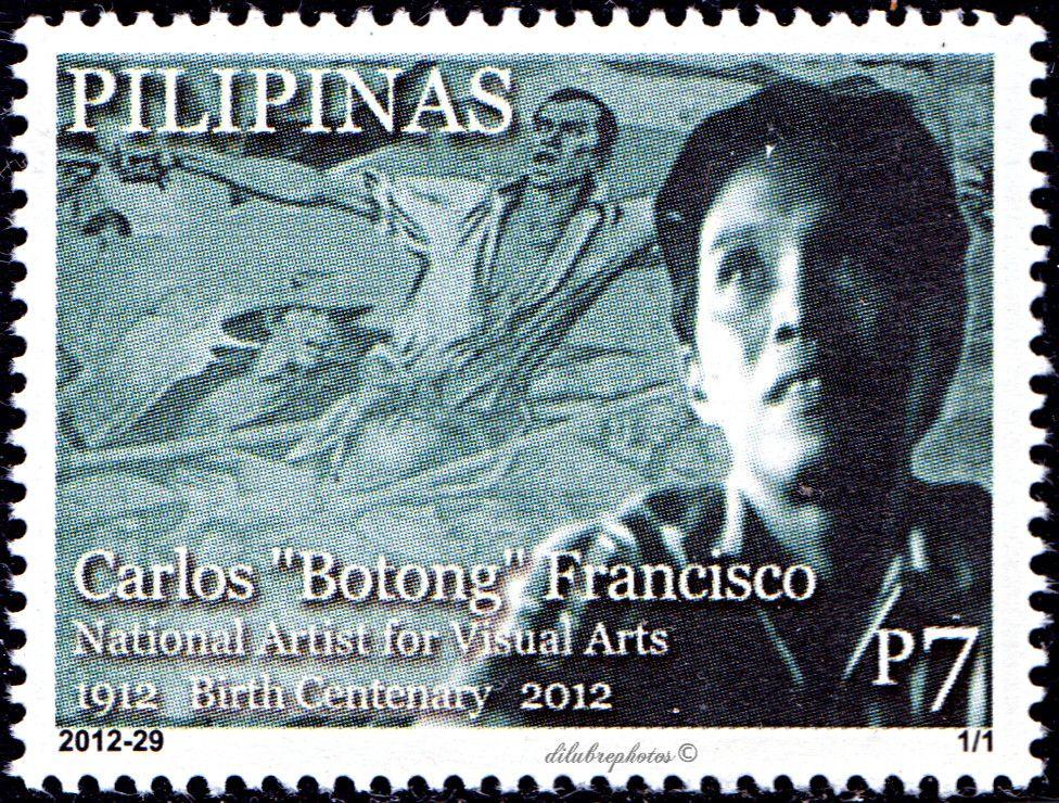 """Philippines. CARLOS """"BOTONG"""" FRANCISCO, NATIONAL ARTIST"""