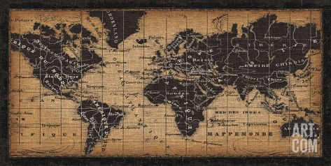 Old world map art print by pela at art for the home old world map art print by pela at art publicscrutiny Choice Image