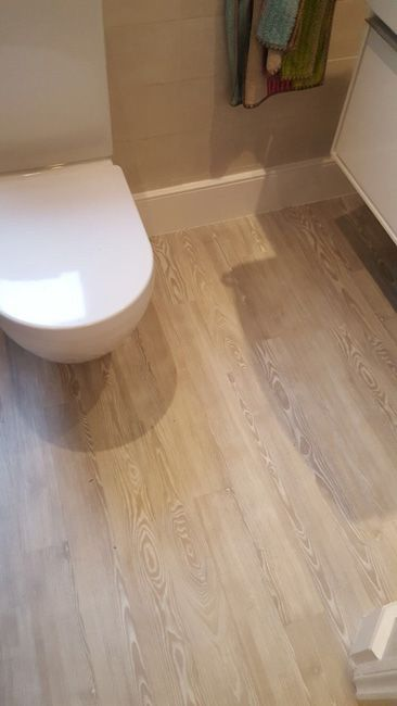 Installing Amtico Wood Effect To Bathroom Amtico Floors