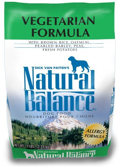 Amazon Com Natural Balance Vegetarian Formula Dog Food 5 Pound