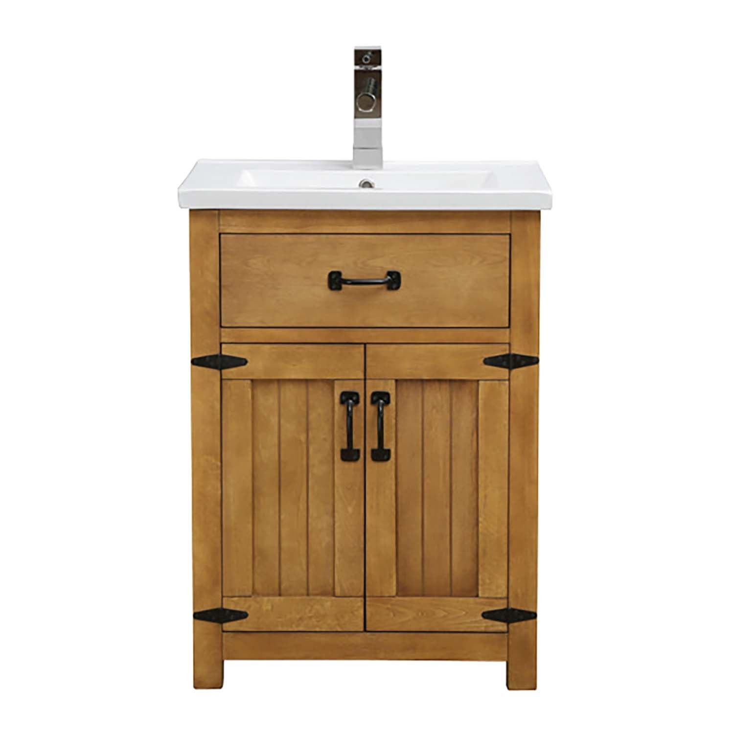 24 Inch Bathroom Vanity With Integrated Lavatory 24 Inch