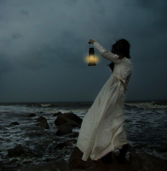 """I am out with lanterns, looking for myself."" -Emily Dickenson..*"