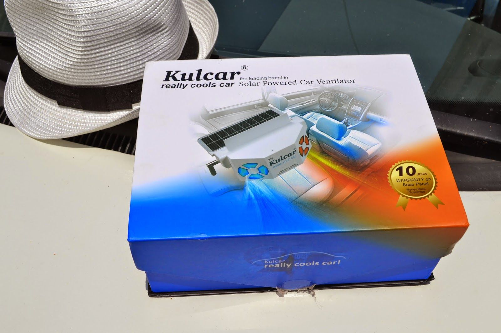 Review Kulcar the Solar Powered Ventilator (With images