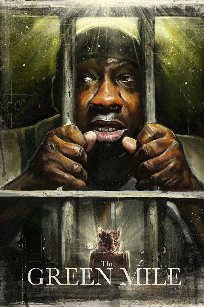 The Green Mile Movie Fan Art Poster Poster Art Stephen King