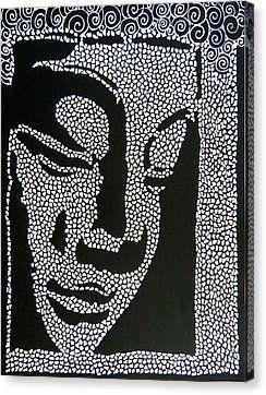 Buddha I Canvas Print by Kruti Shah