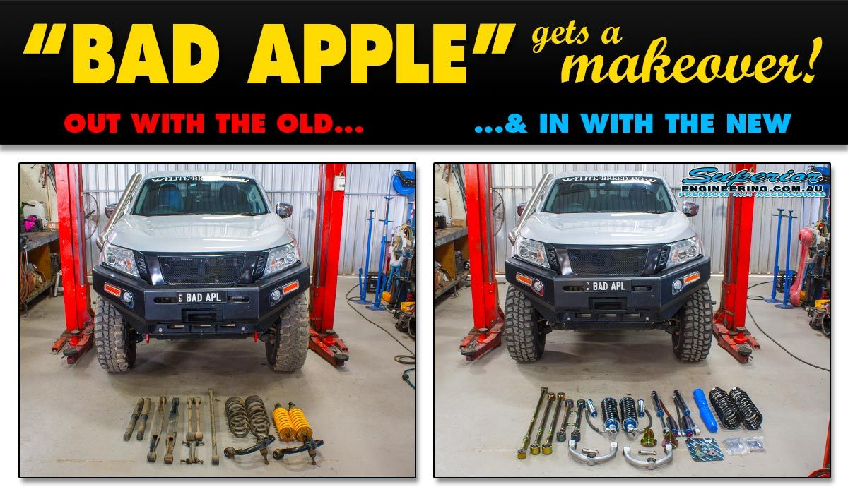 BAD APPLE Gets A Makeover! Superior Engineering stripped out the old