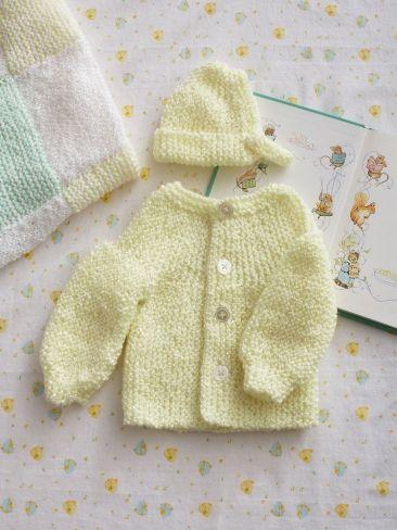 75dc5134b8ac Preemie Garter Stitch Set
