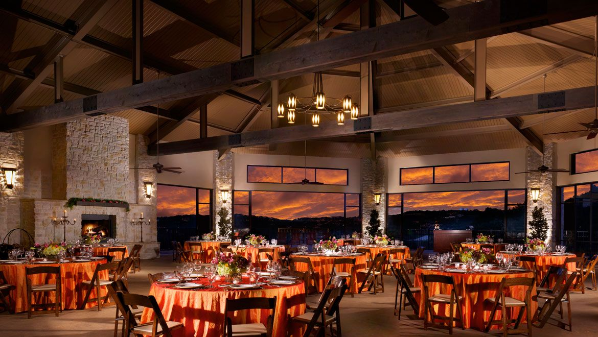 From Elegant Ballrooms To A Climate Controlled Pavilion Omni Barton Creek Resort Is Home Austin Hill Country Wedding Venues That Can Host All