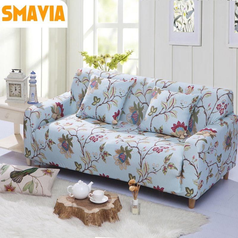 Charmant Click To Buy U003cu003c Flower Pattern All Inclusive Sofa Cover Elasticity Stretch.  U003eu003e